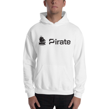Load image into Gallery viewer, Pirate Logo Black Hooded Sweatshirt