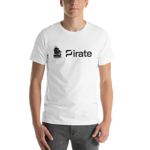 Pirate Front Side Print Only Short-Sleeve Unisex T-Shirt