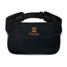 Load image into Gallery viewer, Pirate Skull Gold Visor
