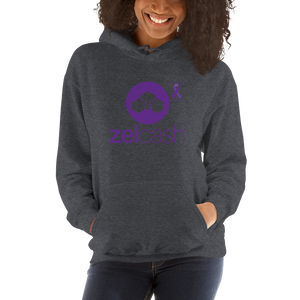 Zelcash Pancreatic Cancer Awareness Unisex Hoodie