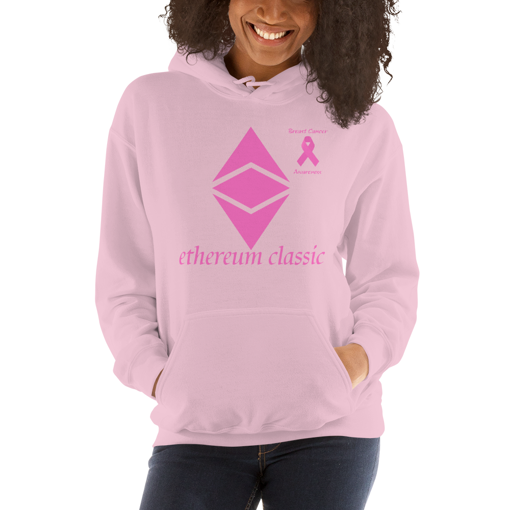 Ethereum Classic Breast Cancer Awareness Unisex Hoodie