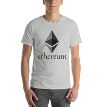 Load image into Gallery viewer, Ethereum Front Print Only Short-Sleeve Unisex T-Shirt