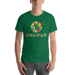 Bitcoin Cash Autism Awareness Short-Sleeve Unisex T-Shirt