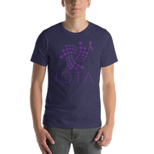 Load image into Gallery viewer, IOTA Pancreatic Cancer Awareness Short-Sleeve Unisex T-Shirt