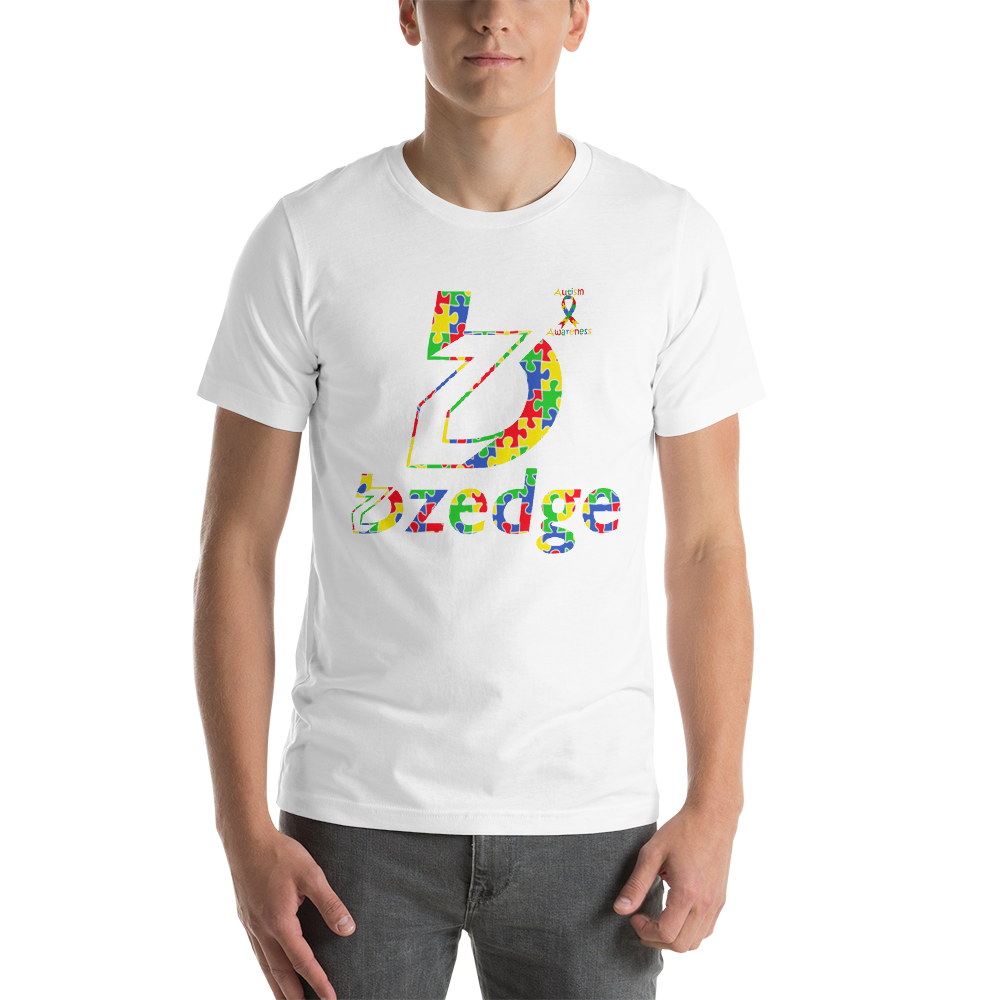 BZedge Autism Awareness Short-Sleeve Unisex T-Shirt