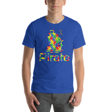 Load image into Gallery viewer, Pirate Autism Awareness Short-Sleeve Unisex T-Shirt