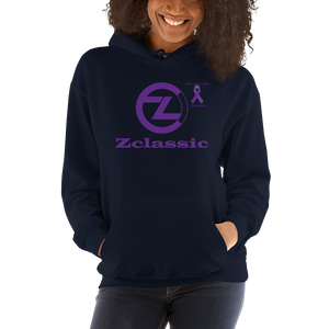 Zclassic Pancreatic Cancer Awareness Unisex Hoodie
