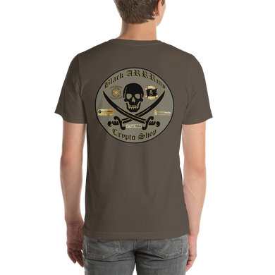 Black ARRRmy Crypto Shop Short-Sleeve Unisex T-Shirt