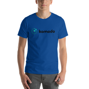 New Komodo Logo Front Print Only Short-Sleeve Unisex T-Shirt