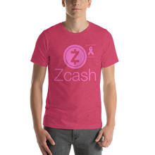 Load image into Gallery viewer, Zcash Breast Cancer Awareness Short-Sleeve Unisex T-Shirt