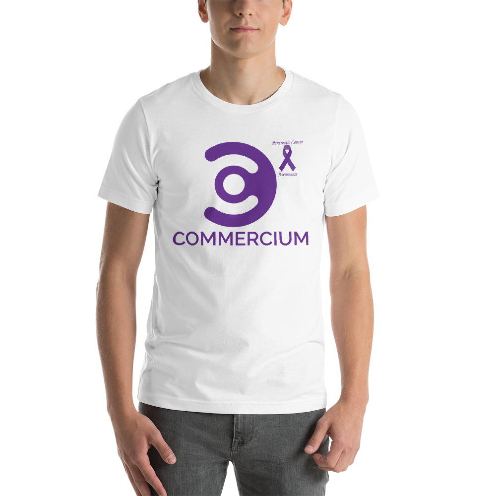 Commercium Pancreatic Cancer Awareness Short-Sleeve Unisex T-Shirt