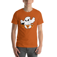 Load image into Gallery viewer, Halloween Boo Ghost Short-Sleeve Unisex T-Shirt