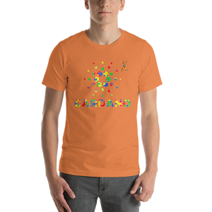 Cardano Autism Awareness Short-Sleeve Unisex T-Shirt
