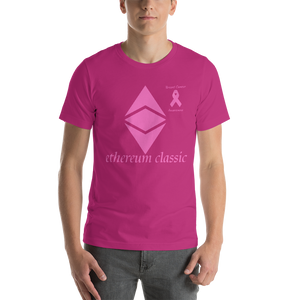 Ethereum Classic Breast Cancer Awareness Short-Sleeve Unisex T-Shirt