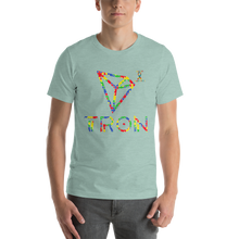 Load image into Gallery viewer, Tron Autism Awareness Short-Sleeve Unisex T-Shirt