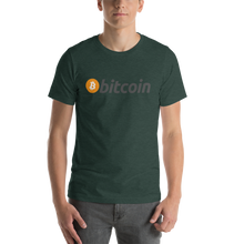 Load image into Gallery viewer, Bitcoin Short-Sleeve Unisex T-Shirt