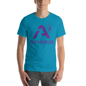 Atheios Pancreatic Cancer Awareness Short-Sleeve Unisex T-Shirt