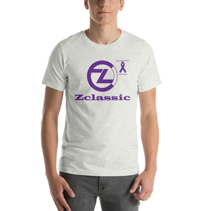 Zclassic Pancreatic Cancer Awareness Short-Sleeve Unisex T-Shirt