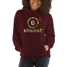 Load image into Gallery viewer, BitcoinZ Autism Awareness Unisex Hoodie