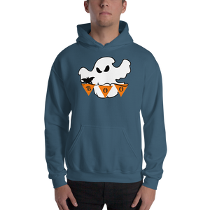 Halloween Boo Ghost Hooded Sweatshirt