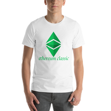 Load image into Gallery viewer, Ethereum Classic Front print Only Short-Sleeve Unisex T-Shirt