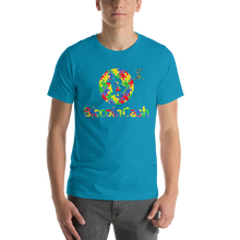 Load image into Gallery viewer, Bitcoin Cash Autism Awareness Short-Sleeve Unisex T-Shirt