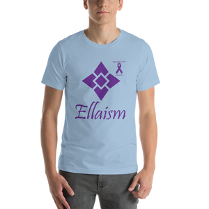 Ellaism Pancreatic Cancer Awareness Short-Sleeve Unisex T-Shirt