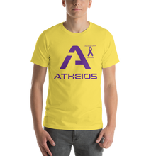 Load image into Gallery viewer, Atheios Pancreatic Cancer Awareness Short-Sleeve Unisex T-Shirt