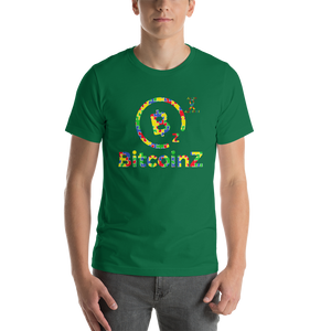 BitcoinZ Autism Awareness Short-Sleeve Unisex T-Shirt