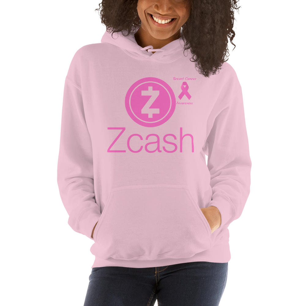Zcash Breast Cancer Awareness Unisex Hoodie