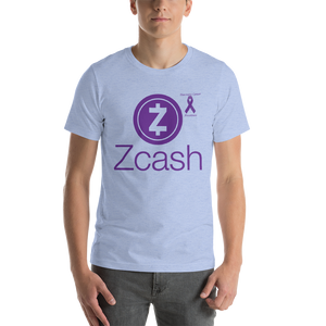 Zcash Pancreatic Cancer Awareness Short-Sleeve Unisex T-Shirt