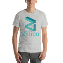 Load image into Gallery viewer, Zilliqa Front Print Only Short-Sleeve Unisex T-Shirt