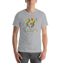 Load image into Gallery viewer, Litecoin Autism Awareness Short-Sleeve Unisex T-Shirt