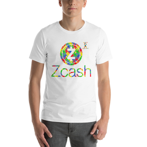 Zcash Autism Awareness Short-Sleeve Unisex T-Shirt