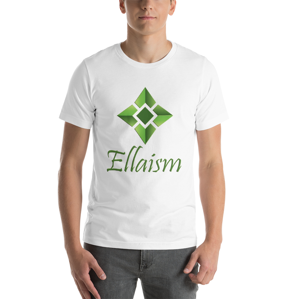 Ellaism Front Print Only Short-Sleeve Unisex T-Shirt