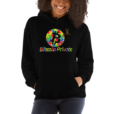 Bitcoin Private Autism Awareness Unisex Hoodie