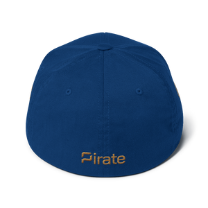 Pirate Ship Gold Structured Twill Cap