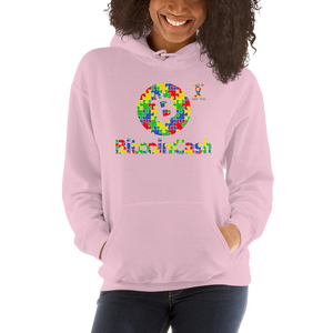 Bitcoin Cash Autism Awareness Unisex Hoodie