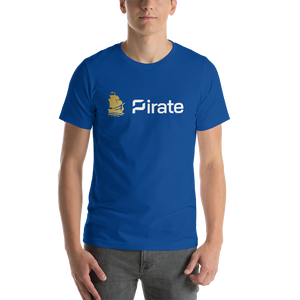 Pirate Ship Logo Short-Sleeve Unisex T-Shirt