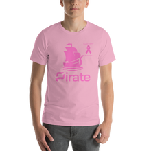 Load image into Gallery viewer, Pirate Breast Cancer Awareness Short-Sleeve Unisex T-Shirt