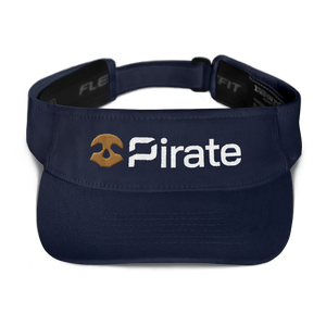 Pirate Chain Skull Visor