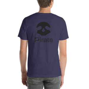 Pirate Skull Black Short-Sleeve Unisex T-Shirt