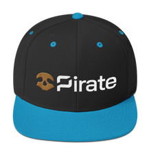 Load image into Gallery viewer, Pirate Chain Skull Snapback Hat