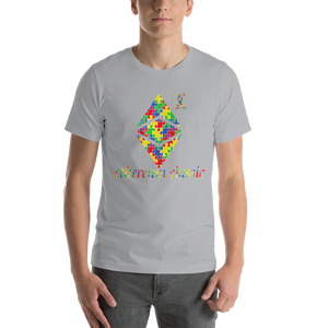 Ethereum Classic Autism Awareness Short-Sleeve Unisex T-Shirt