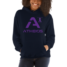 Load image into Gallery viewer, Atheios Pancreatic Cancer Awareness Unisex Hoodie