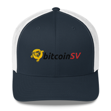 Load image into Gallery viewer, BitcoinSV Trucker Cap