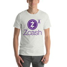 Load image into Gallery viewer, Zcash Pancreatic Cancer Awareness Short-Sleeve Unisex T-Shirt