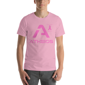 Atheios Breast Cancer Awareness Short-Sleeve Unisex T-Shirt
