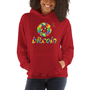 Bitcoin Autism Awareness Unisex Hoodie
