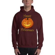 Load image into Gallery viewer, Happy Halloween Hooded Sweatshirt